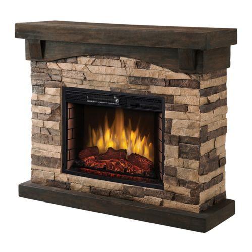 Muskoka Sable Mills Electric Fireplace, Tan Product image
