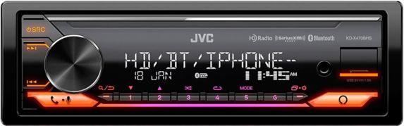 Récepteur média numérique JVC KD-X470BHS avec Bluetooth intégré Image de l'article