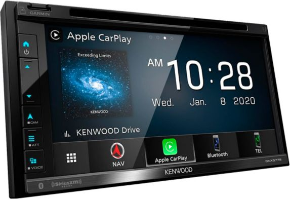Kenwood DNX577S Navigation DVD Receiver with Bluetooth