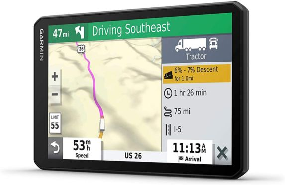 Navigateur GPS pour camion Garmin dēzl OTR700, 7 po Image de l'article