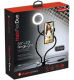 Lampe circulaire à DEL Tzumi On Air Halo Flex Duo | Tzumi Electronicsnull