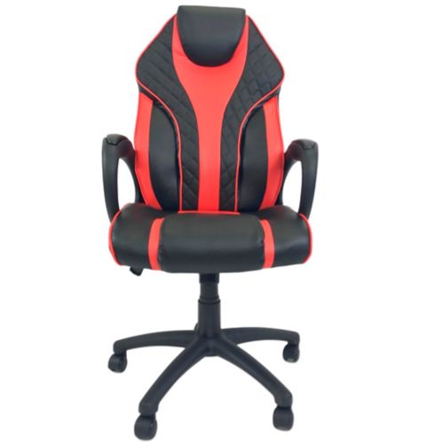 ViscoLogic Staple Gaming Chair, Red