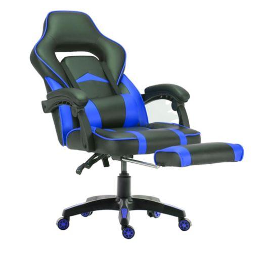 Fauteuil de jeu ViscoLogic Supra, bleu Image de l'article