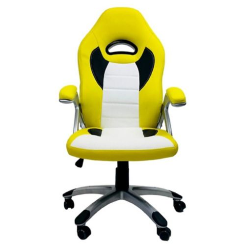 ViscoLogic Thrill Gaming Chair, Yellow Product image