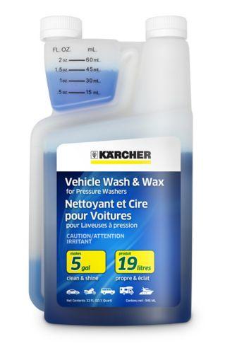 Karcher Vehicle Wash & Wax Detergent, 1-qt Product image