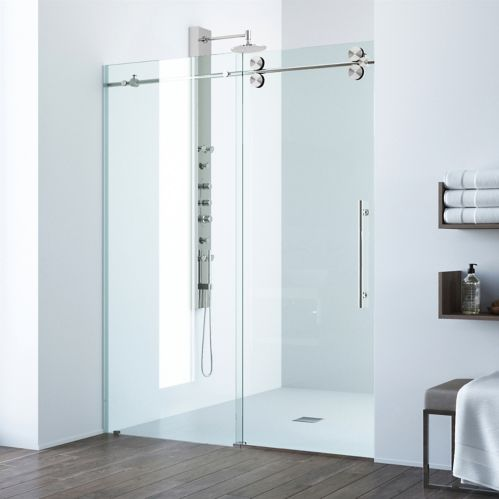 VIGO Elan Stainless Steel Shower Door Product image