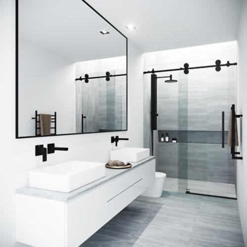 Porte de douche VIGO Elan, noir mat Image de l'article