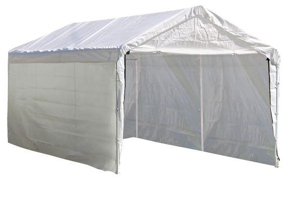 Panneaux pour abri blanc Max AP ShelterLogic pour cadre de 2 po, 10 pi x 20 pi Image de l'article
