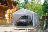 ShelterLogic Max AP™ White Canopy Enclosure Kit for 2-in Frame, 10-ft x 20-ft | Shelter Logicnull