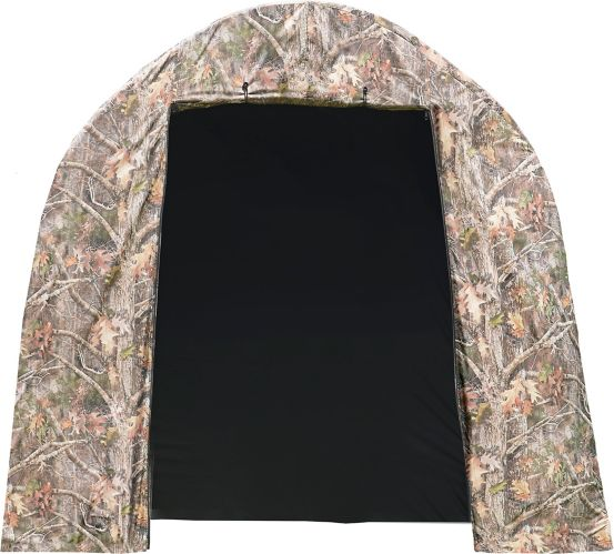 ShelterLogic Shed-in-a-Box Roundtop Storage Shed, Camouflage Cover, 8-ft x 8-ft x 7-ft Product image