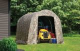 ShelterLogic Shed-in-a-Box Roundtop Storage Shed, Camouflage Cover, 8-ft x 8-ft x 7-ft | Shelter Logicnull