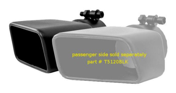 MBRP Black Exhaust Tip, T5119BLK Product image