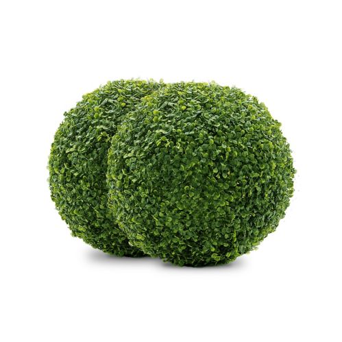 Naturae Décor Boxwood Balls, 11-in, 2-pk Product image
