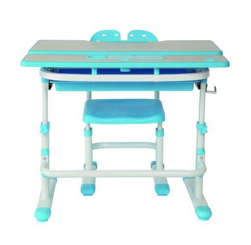 Bureau à hauteur réglable pour enfants TygerClaw, bleu Image de l'article