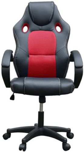 TygerClaw High Back Gaming Chair, Red Product image