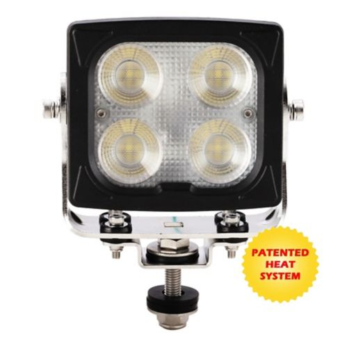 BrightSource Heated Square Extreme Duty Work Light, 5-in Product image