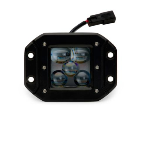 BrightSource 2-Light Cube Light Kit, 25W Driving/Spot Pattern, Flush Mount, 3-in Product image