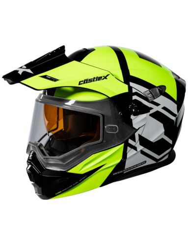 Castle X CX950 HEX Snowmobile Helmet, H-Vis/Black Product image