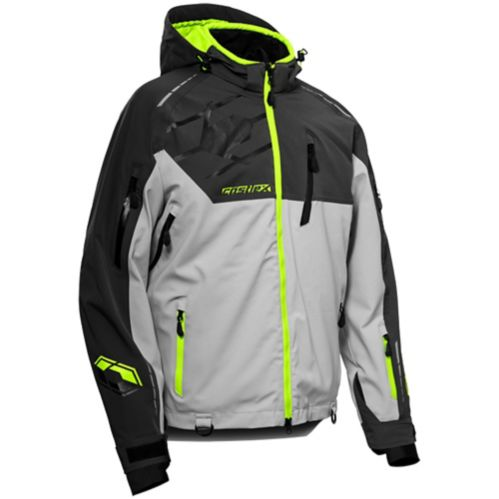 Castle X Flex Men's Hi-Vis Snow Jacket, Charcoal/Silver Product image