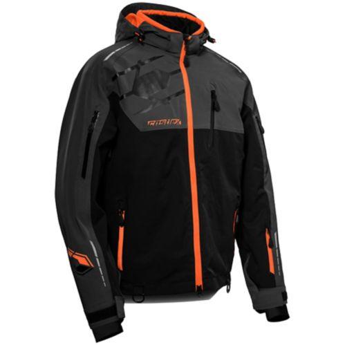 Manteau d'hiver Castle X Flex, hommes, anthracite/noir/orange Image de l'article