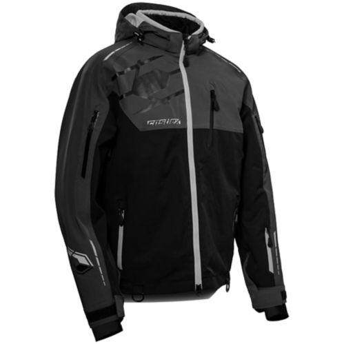 Castle X Flex Men's Snow Jacket, Charcoal/Black/Silver Product image