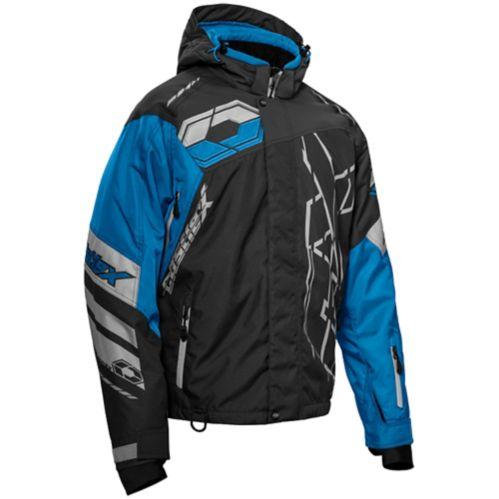 Castle X Code-G2 Men's Snow Jacket, Charcoal/Blue/Silver Product image