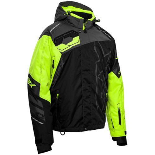 Castle X Code-G2 Men's Hi-Vis Snow Jacket, Black/Charcoal Product image