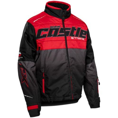 Manteau d'hiver Castle X ST-G3, homme, rouge/noir