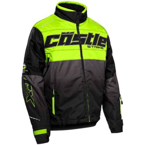 Castle X Strike-G3 Men's Hi-Vis Snow Jacket, Black