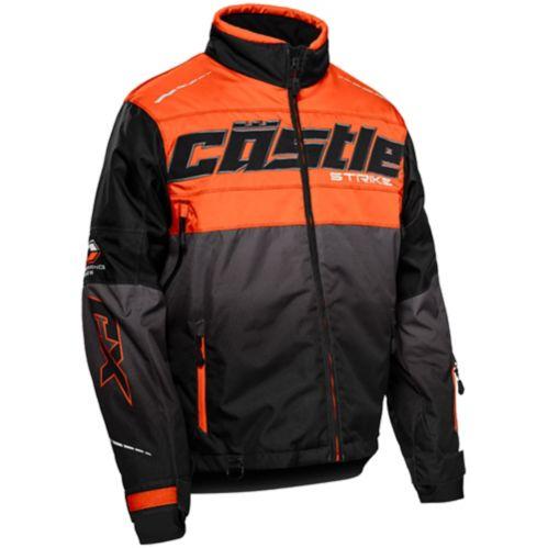 Castle X Strike-G3 Men's Snow Jacket, Orange/Black Product image