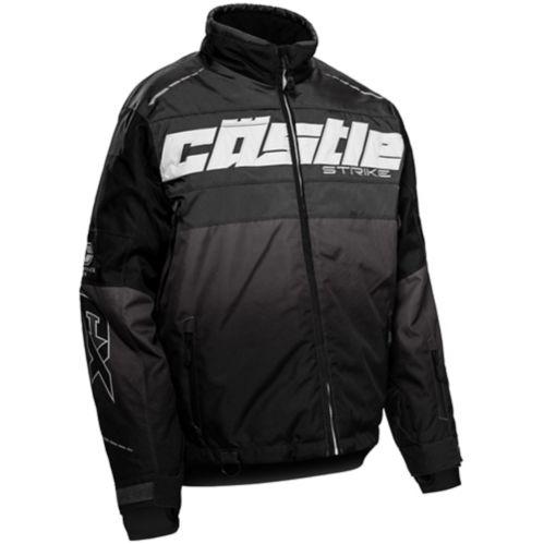 Castle X Strike-G3 Women's Snow Jacket, Charcoal/White/Black