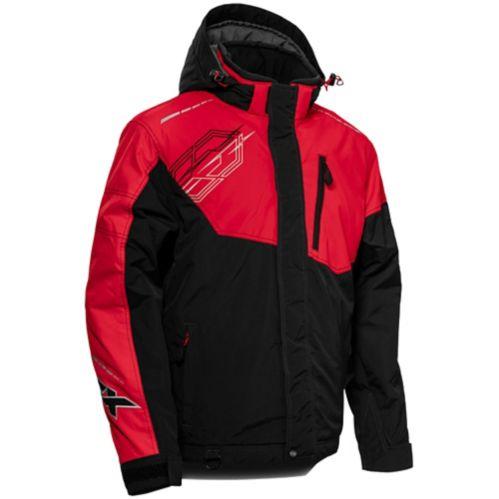 Manteau d'hiver Castle X Phase-G3, dame, noir/rouge Image de l'article