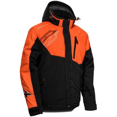 Manteau d'hiver Castle X Phase-G3, dame, noir/orange