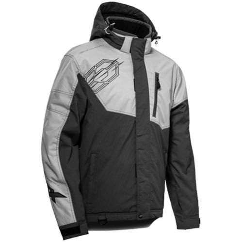 Castle X Phase-G3 Women's Snow Jacket, Silver/Charcoal Product image