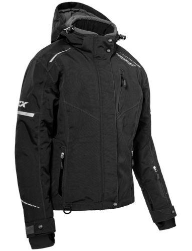 Castle X Polar Women's Snow Jacket, Black/White Product image