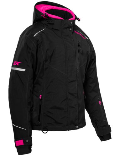 Castle X Polar Women's Snow Jacket, Black/Pink Product image