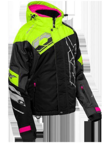 Castle X Code-G2 Women's Hi-Vis Snow Jacket, Pink Product image