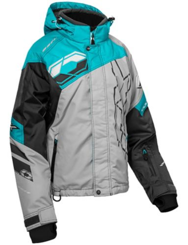 Castle X Code-G2 Women's Snow Jacket, Turquoise/Charcoal Product image