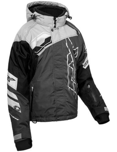 Manteau d'hiver Castle X Code-G2, dame, noir/anthracite