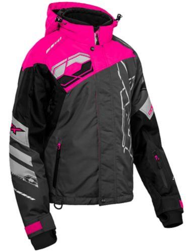 Manteau d'hiver Castle X Code-G2, dames, long, rose/noir