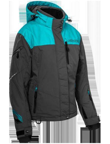 Manteau d'hiver Castle X Powder-G2, dame, anthracite/turquoise Image de l'article