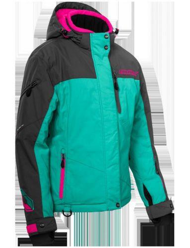Castle X Powder-G2 Women's Snow Jacket, Mint/Pink Product image