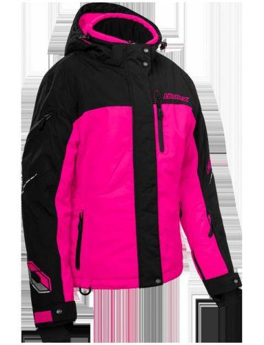 Manteau d'hiver Castle X Powder-G2, dame, rose/noir Image de l'article