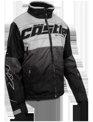 Castle X Strike-G3 Women's Snow Jacket, Silver/Black Product image