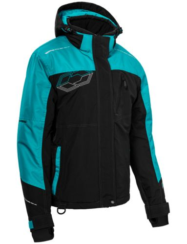Castle X Phase Women's Snow Jacket, Black/Turquoise Product image