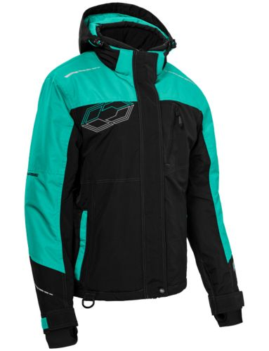 Castle X Phase Women's Snow Jacket, Black/Mint Product image