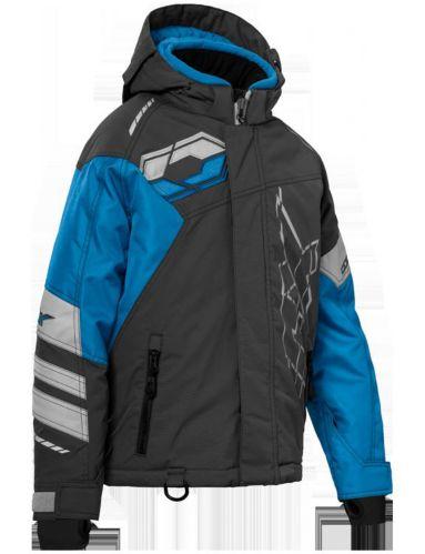 Manteau d'hiver Castle X Code, jeune, anthracite/bleu/argent Image de l'article