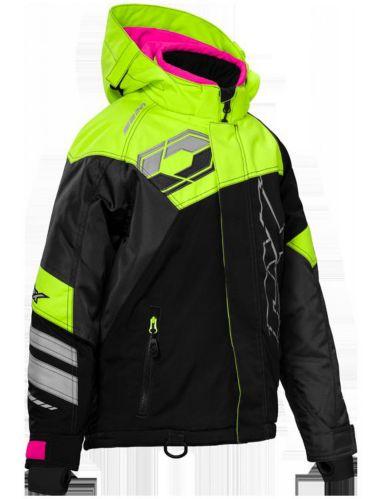 Manteau d'hiver Castle X Code, jeune, haute visibilité, noir