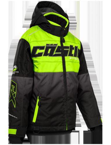 Manteau d'hiver Castle X Strike-G3, jeune, haute visibilité, noir Image de l'article