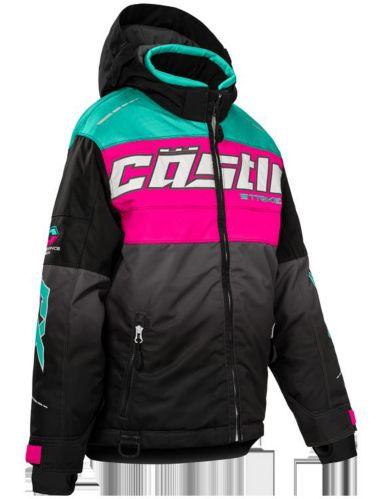 Castle X Strike-G3 Youth Snow Jacket, Pink/Black/Mint Product image